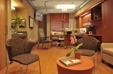 Methodist Rehabilitation Center Stroke Patient Floor Renovation