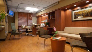 Methodist Rehabilitation Center Stroke Patient Floor Renovation