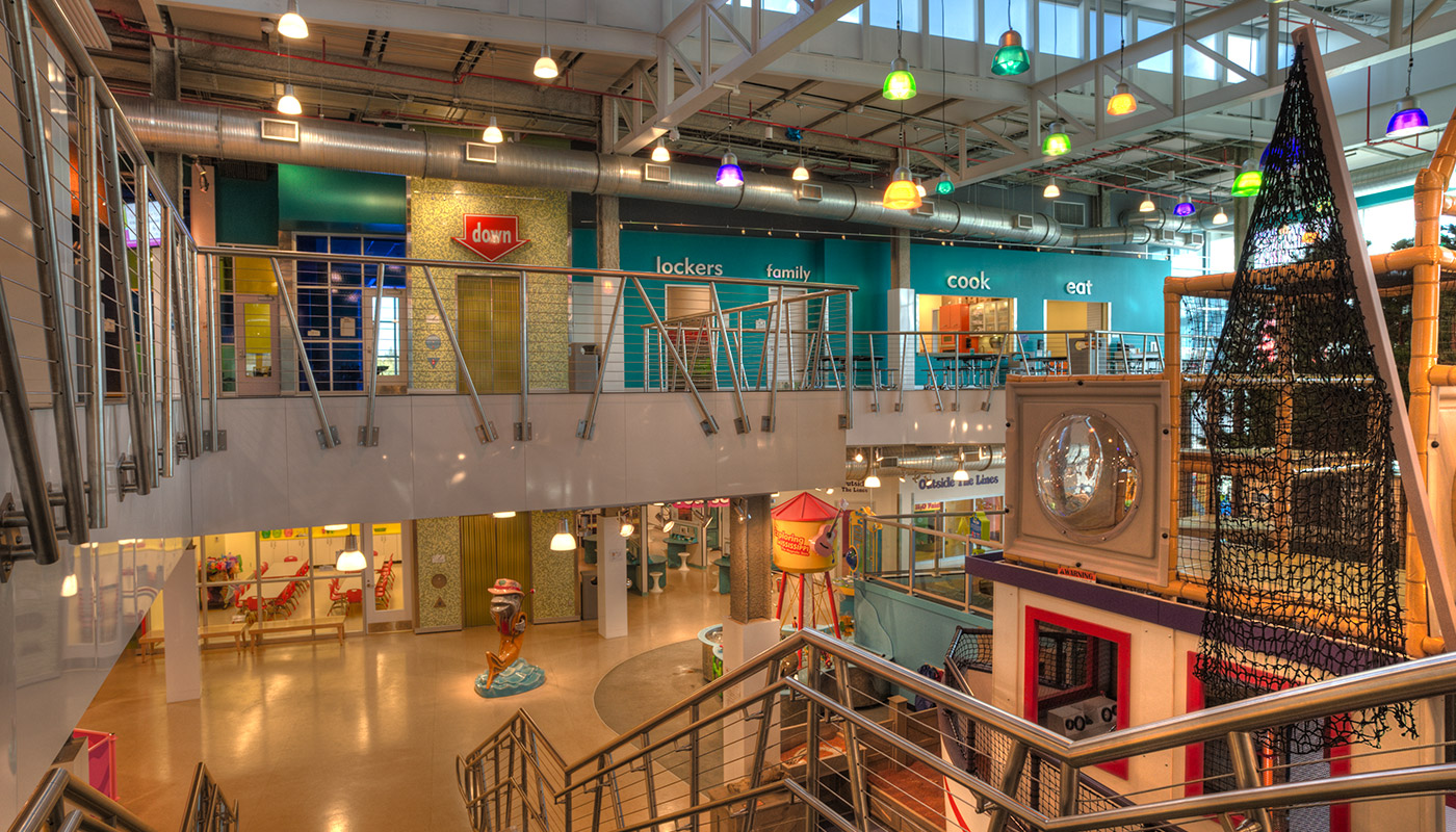 The Mississippi Childrenu0027s Museum, Located At The Lefleuru0027s Bluff State  Park In Jackson, Mississippi, Incorporates Bright Colors And Informal  Shapes, ...