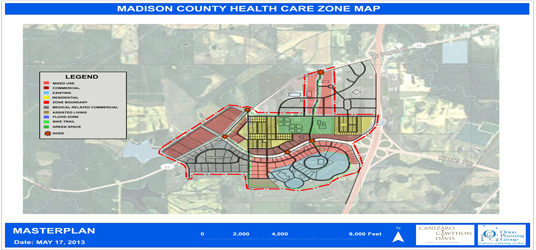 Madison County Health Care Zone Master Plan