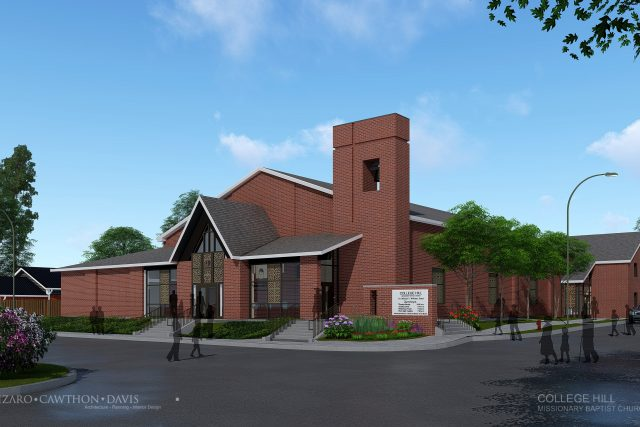 College Hill Missionary Baptist Church Additions