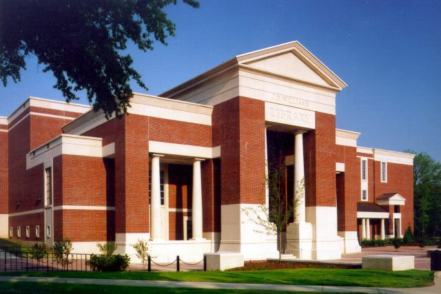 John D. Williams Library, University of Mississippi